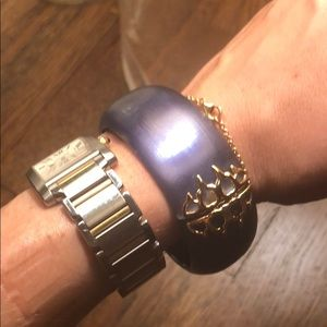 Alexis Bittar Bangle with Clasp